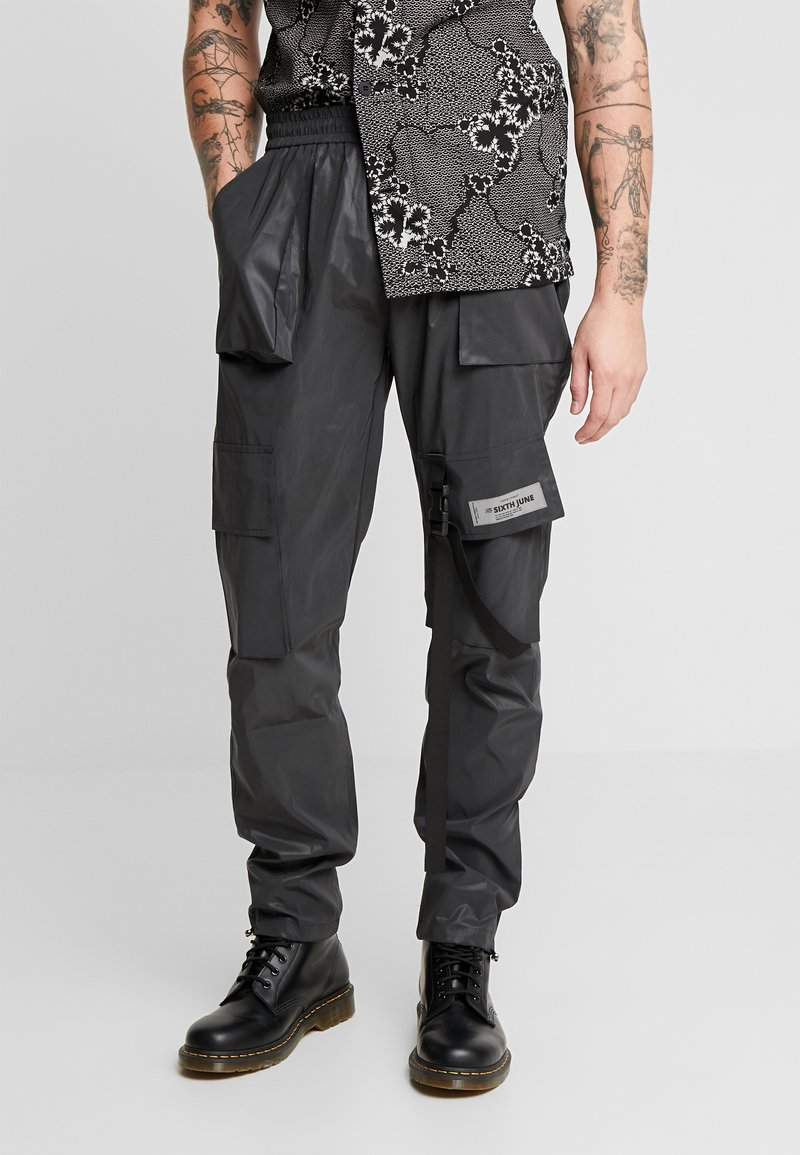 Sixth June - REFLECTIVE PANT - Kapsáče - black