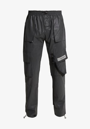 REFLECTIVE PANT - Cargo trousers - black