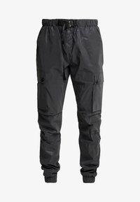 Sixth June - REFLECTIVE CARGO PANTS - Pantaloni cargo - black - 4