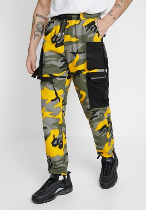 PANTS CAMO - Cargobroek - yellow