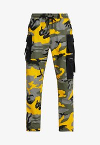 Sixth June - PANTS CAMO - Pantalon cargo - yellow - 5