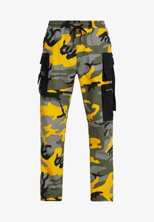 PANTS CAMO - Cargobroek - yellow