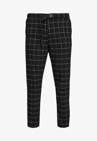 Sixth June - SQUARE PANTS WITH UTILITY BELT - Pantalones - black - 3