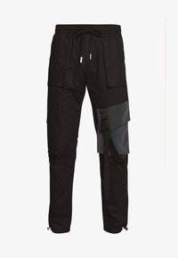 Sixth June - TACTICAL PANTS WITH IRIDESCENT POCKET - Cargobyxor - black - 4