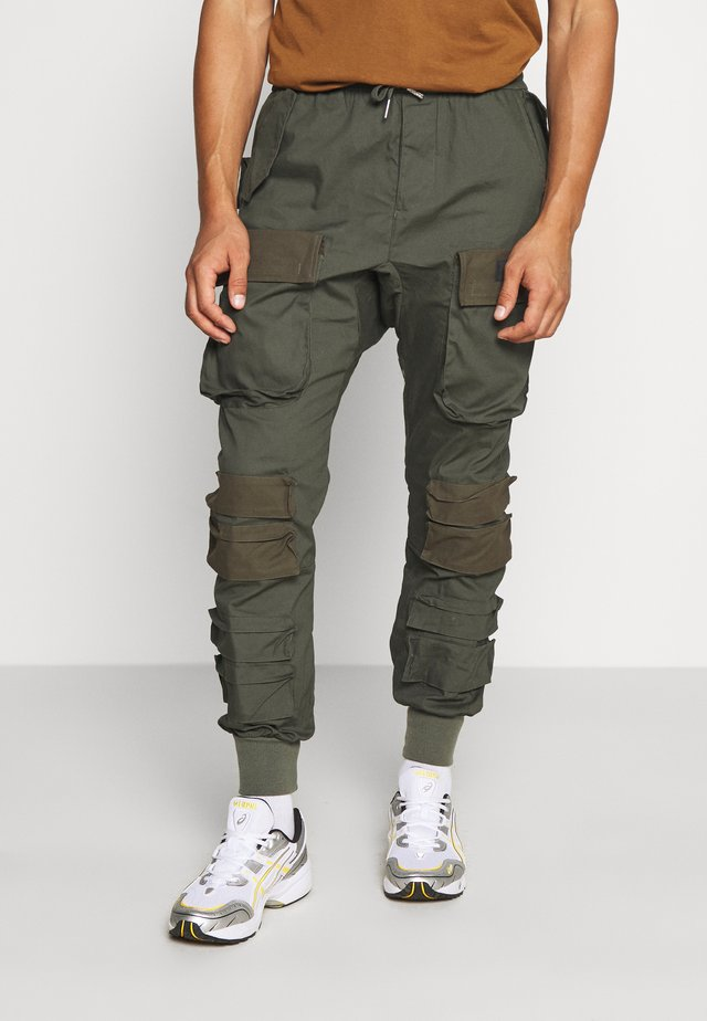 UTILITY PANTS - Pantalon cargo - khaki
