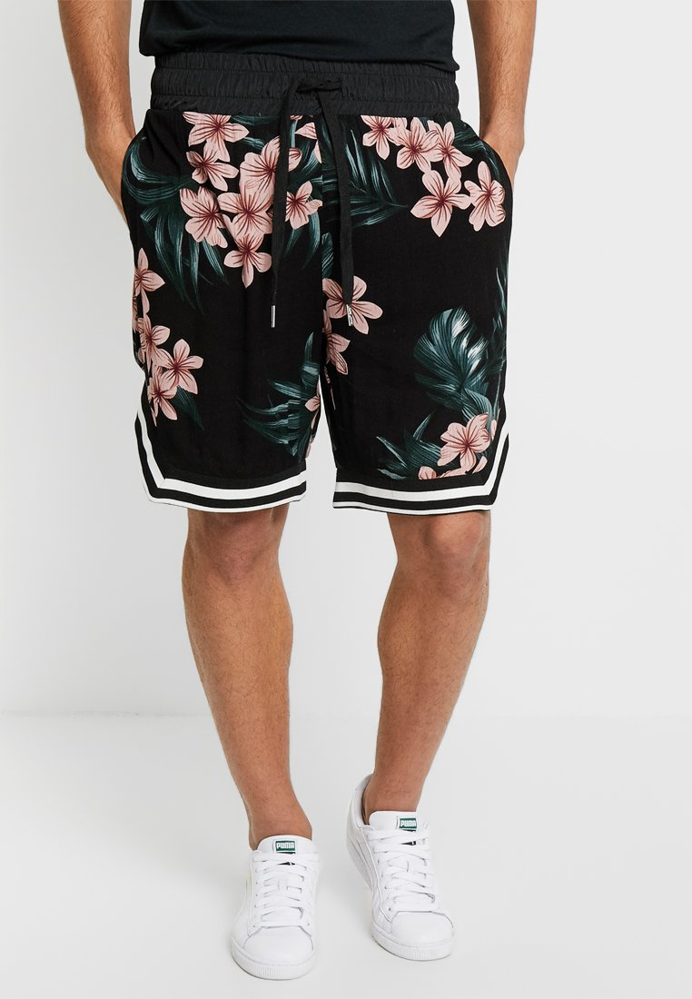 Sixth June - FLOWERS - Shorts - black