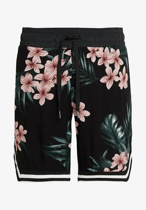 FLOWERS - Short - black