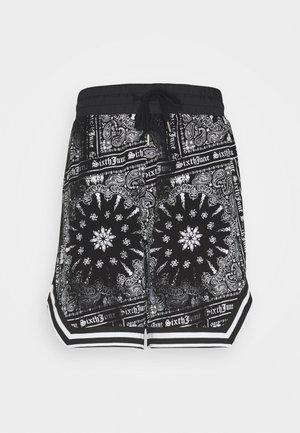 BANDANA TROPICAL - Shorts - black