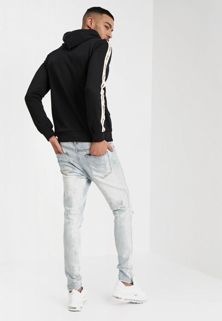Sixth June - SIDE ZIP - Jeans Skinny Fit - blue denim