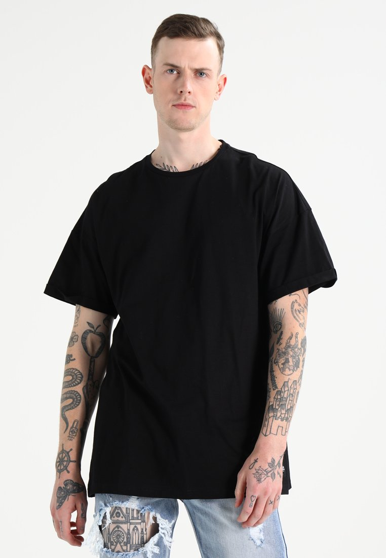 Sixth June - ULTRA OVERSIZED WITH DROPPED SHOULDERS - Camiseta básica - black