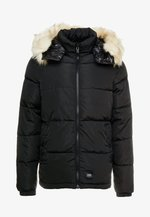 PUFFER JACKET WITH  HOOD - Winter jacket - blac