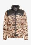 LEOPARD - Zimní bunda - black