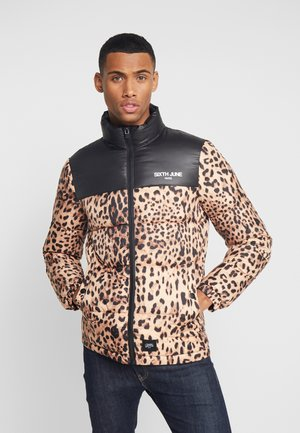 LEOPARD - Winterjas - black