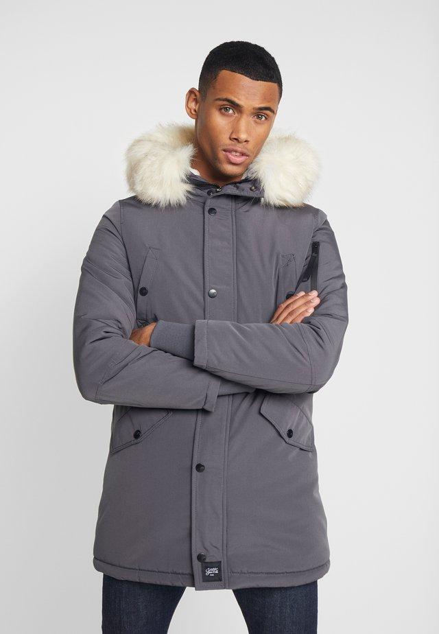 Wintermantel - grey