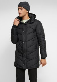 Sixth June - WITH FUR ALL AROUND - Parka - black - 2
