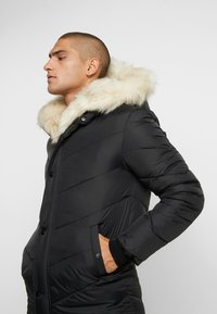 Sixth June - WITH FUR ALL AROUND - Parka - black - 6