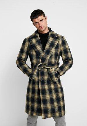 TARTAN - Zimní kabát - navy/yell