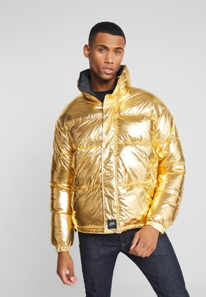 OVERSIZE PUFFER - Giacca invernale - gold