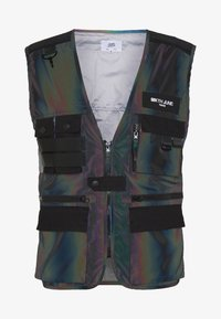 Sixth June - IRIDESCENT UTILITY VEST - Väst - black - 3