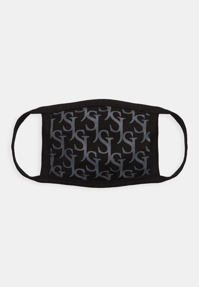 ALL OVER MONOGRAM FACE MASK - Community mask - black