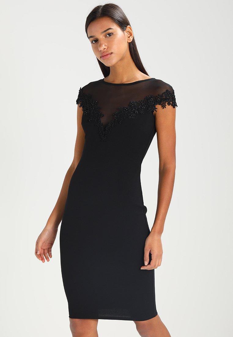 Sista Glam - LAURIE - Shift dress - black