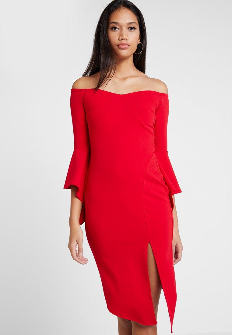 Sista Glam - IMOGEN - Vestido de cóctel - red