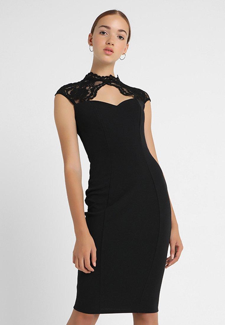 Sista Glam - TRACEY - Etuikleid - black