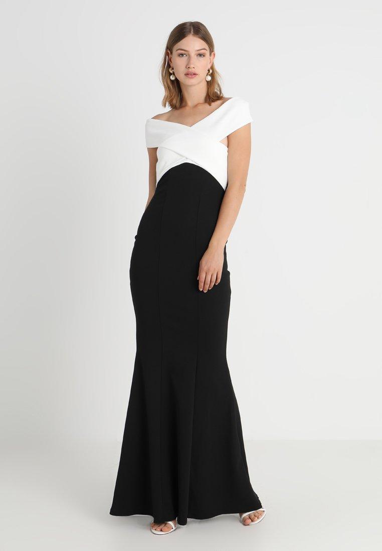 Black Sista CassilaRobe Longue Glam white qzMpVGSU