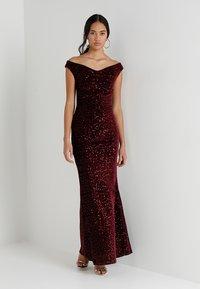 Sista Glam - NETTY - Occasion wear - wine - 1