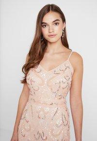 Sista Glam - FLORY - Festklänning - blush - 4