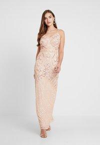 Sista Glam - FLORY - Festklänning - blush - 0