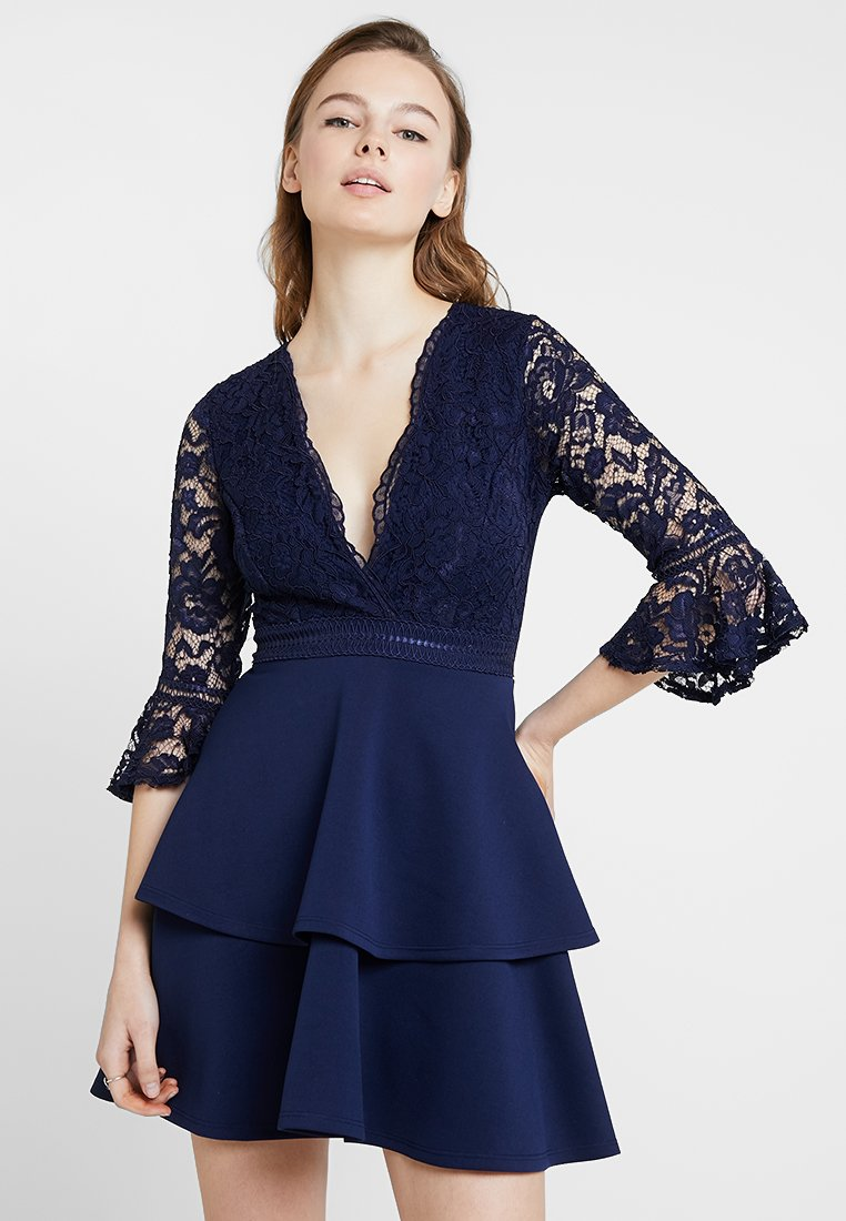 Sista Glam - NOVANNE - Jersey dress - navy