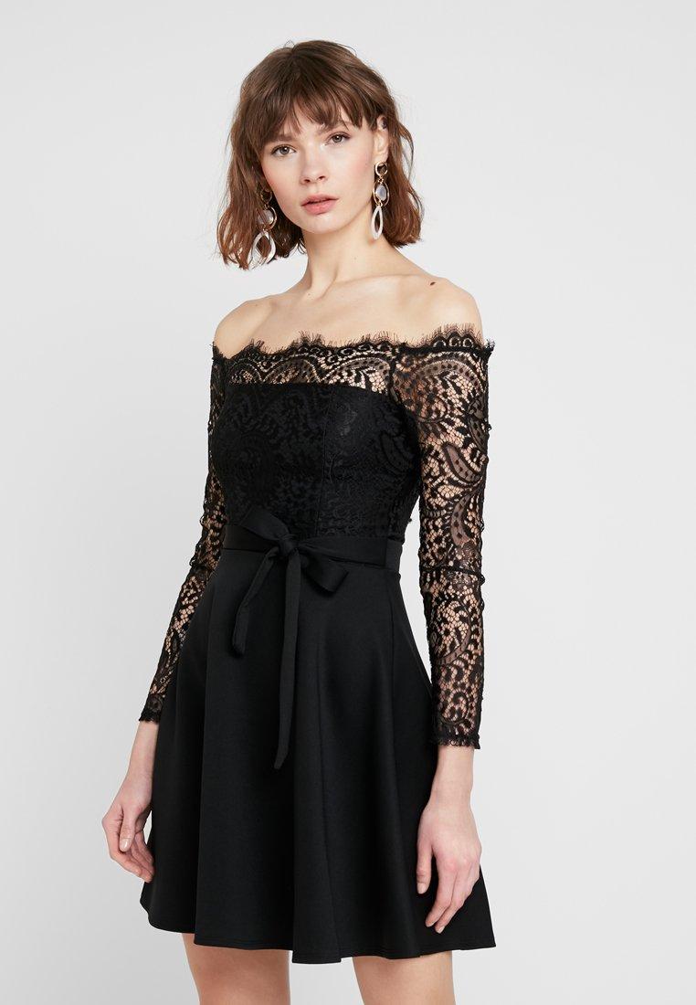 Sista Glam - CHERRELL - Jersey dress - black