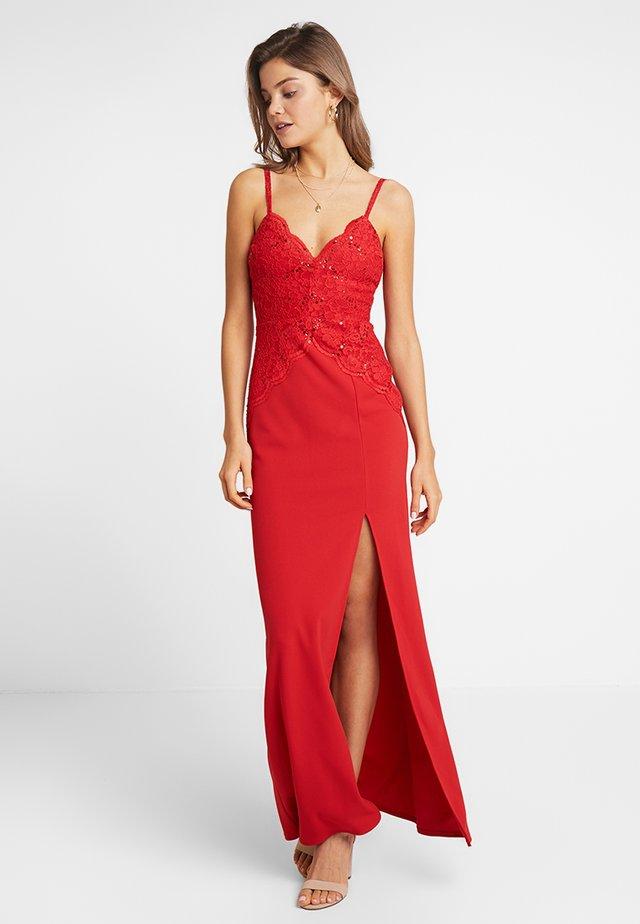 SANTINI - Maxiklänning - red