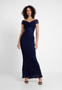 Sista Glam - MARINY - Společenské šaty - navy - 0