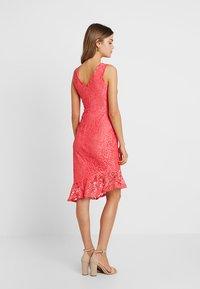 Sista Glam - ROSAY - Sukienka koktajlowa - coral - 3