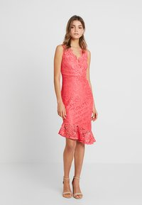 Sista Glam - ROSAY - Sukienka koktajlowa - coral - 0