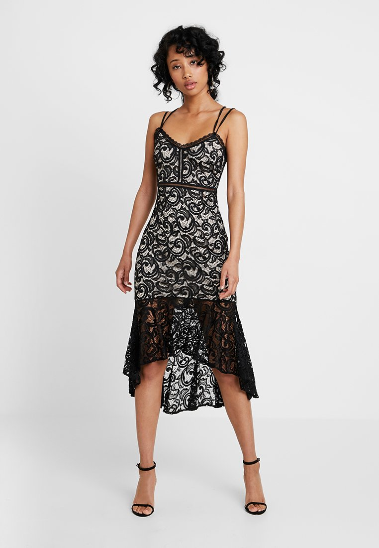 Sista Glam - RUBBY - Ballkleid - nude/black