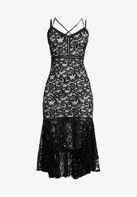 Sista Glam - RUBBY - Ballkleid - nude/black - 5