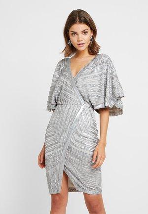 QLEO - Robe de soirée - silver
