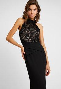 Sista Glam - KAYTI - Vestido de fiesta - black/nude - 4