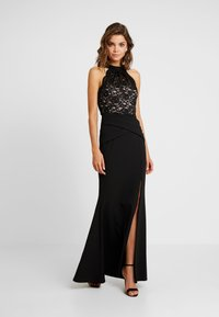 Sista Glam - KAYTI - Vestido de fiesta - black/nude - 2