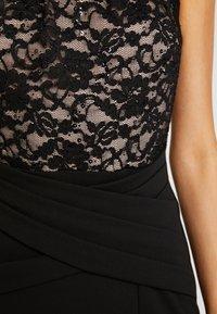 Sista Glam - KAYTI - Vestido de fiesta - black/nude - 6