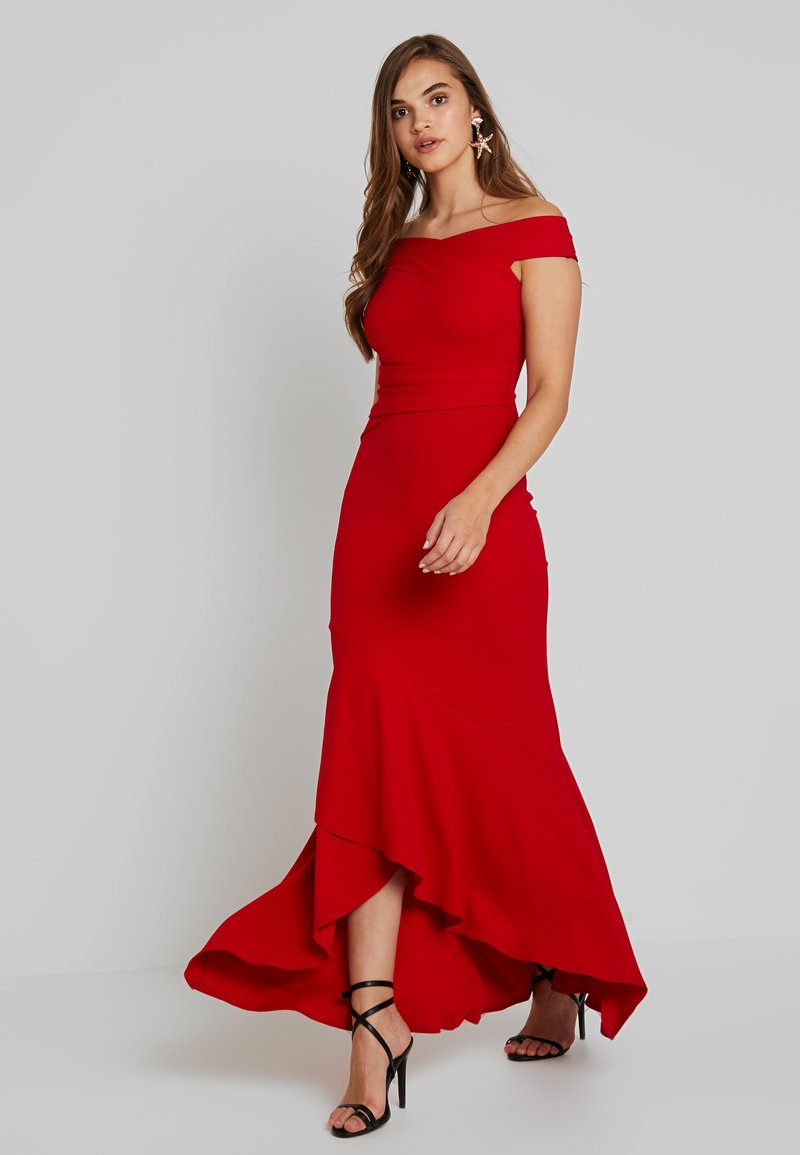 Sista Glam - ELISEYA - Maxikleid - red