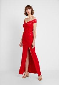 Sista Glam - SANTIANNA - Festklänning - red - 0