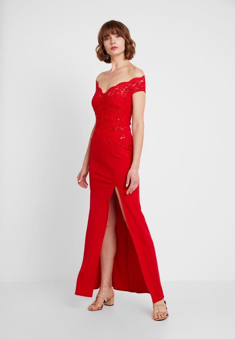 Sista Glam - SANTIANNA - Festklänning - red