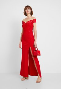 Sista Glam - SANTIANNA - Festklänning - red - 2