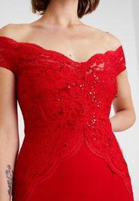 Sista Glam - SANTIANNA - Festklänning - red - 6