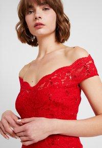 Sista Glam - SANTIANNA - Festklänning - red - 4