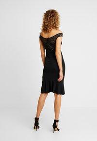 Sista Glam - BEATTIE - Koktejlové šaty/ šaty na párty - black - 2